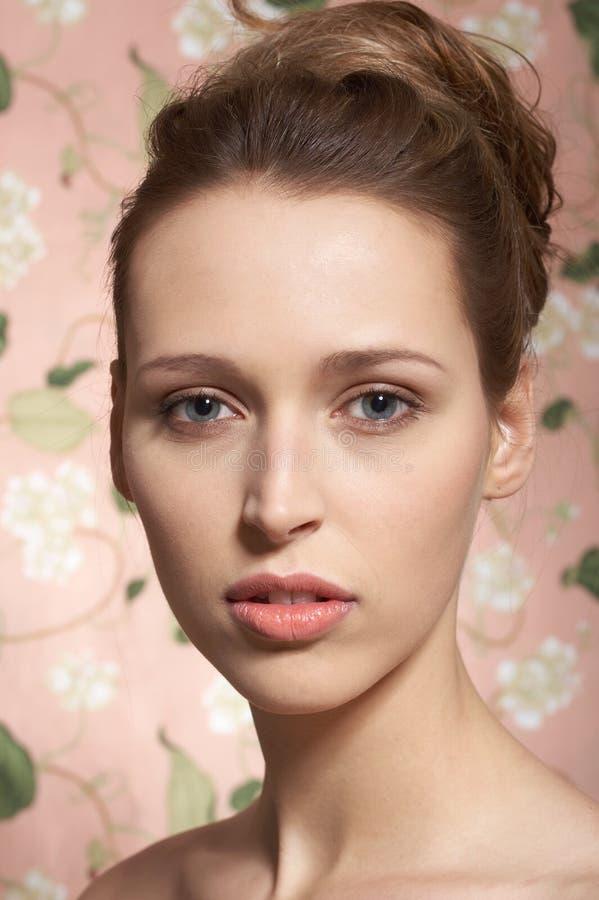 Modelo de la belleza, retrato foto de archivo libre de regalías