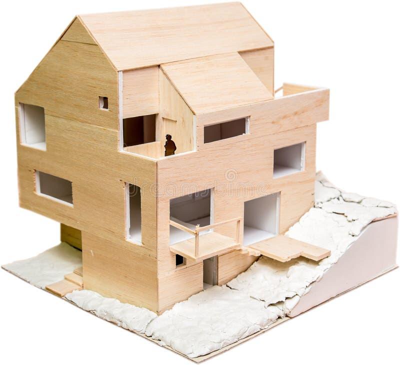 Modelo de la casa fotos de archivo libres de regalías