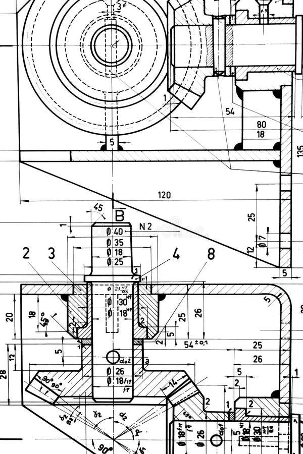 Modelo de la fabricación imagenes de archivo