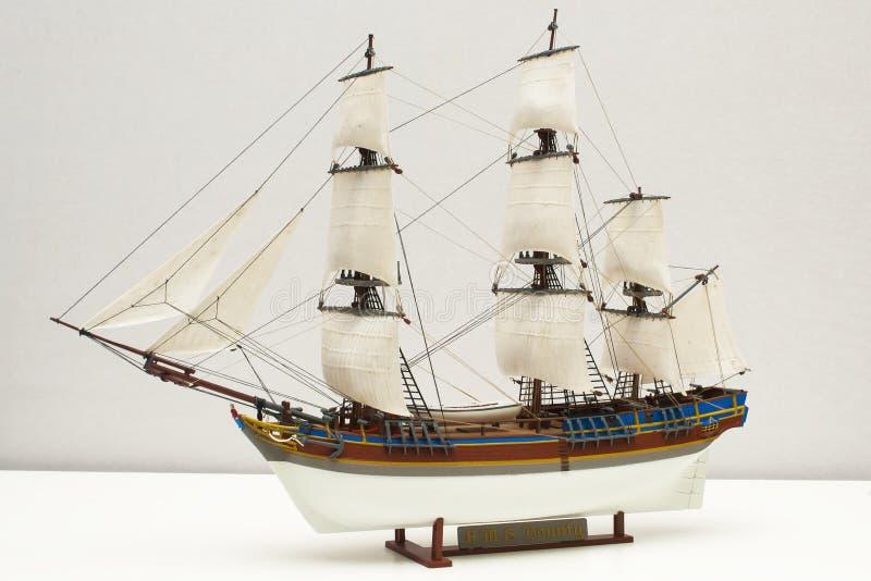 Modelo de la generosidad del HMS imágenes de archivo libres de regalías