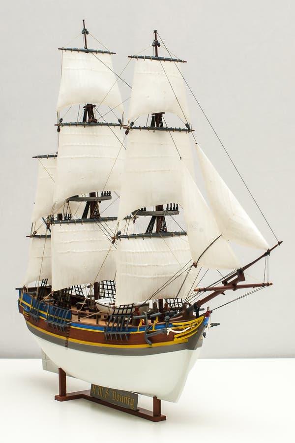 Modelo de la generosidad del HMS fotografía de archivo