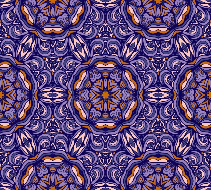 Modelo de la mandala abstracta colorida shapes11 ilustración del vector