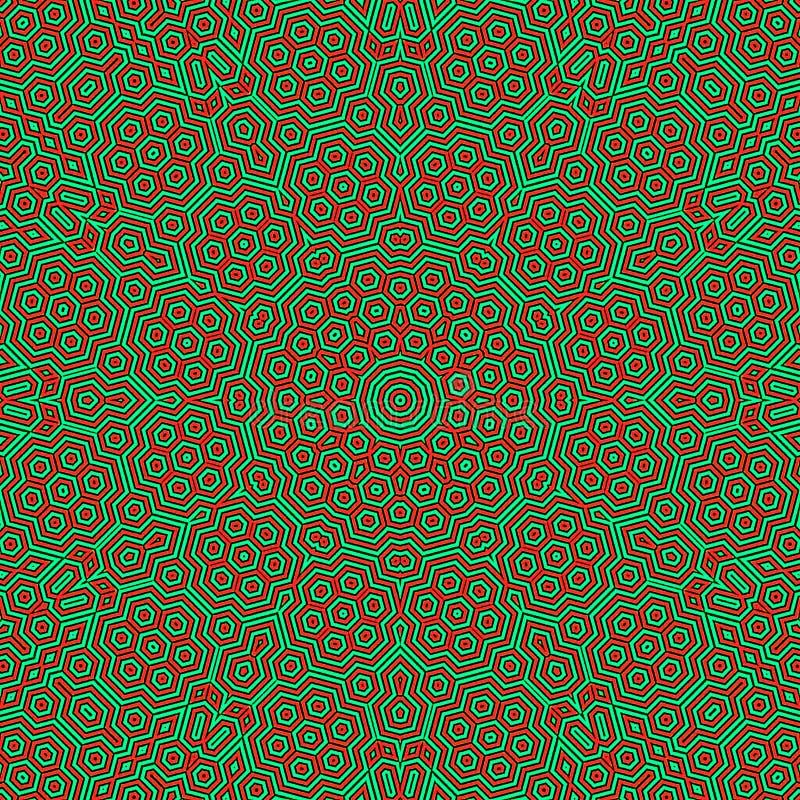 Modelo de la mandala del círculo Ornamento redondo decorativo Logotipo de la yoga, fondo para el cartel de la meditación ilustración del vector