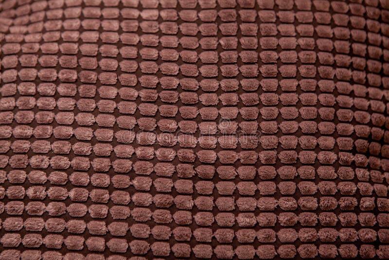 Modelo de la materia textil del tweed de Brown Texturas y fondos foto de archivo