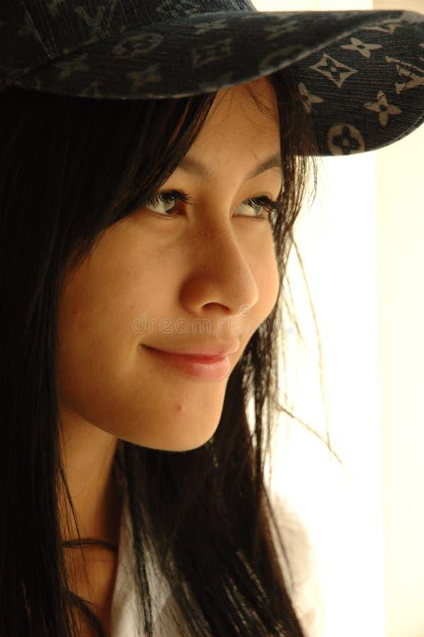 Modelo de la muchacha foto de archivo libre de regalías