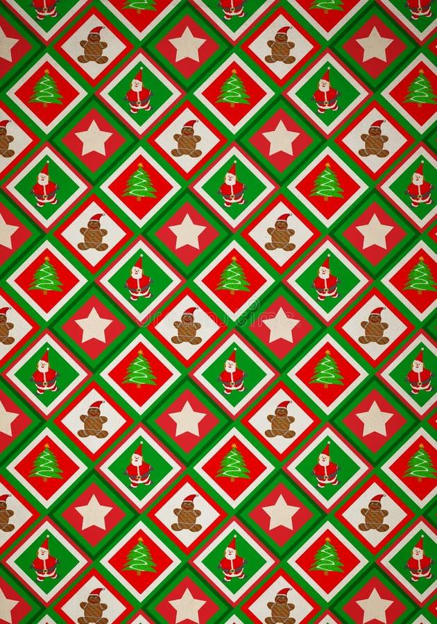 Modelo de la Navidad stock de ilustración