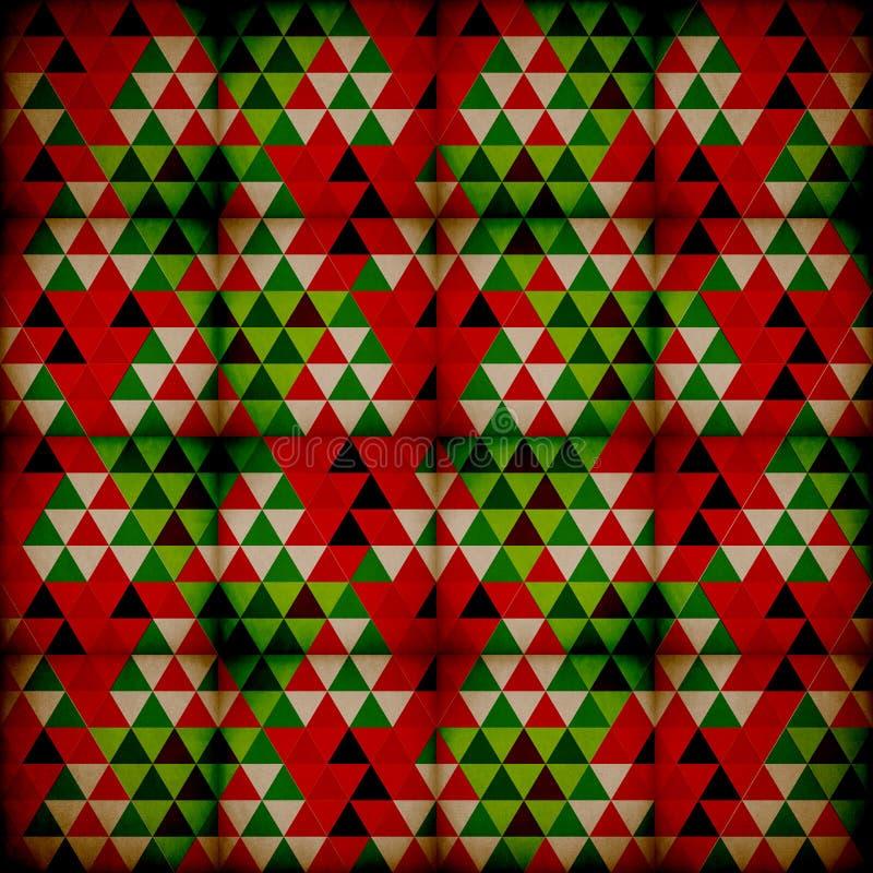 Modelo de la Navidad ilustración del vector