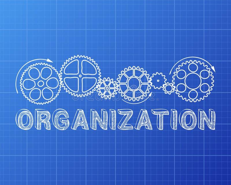 Modelo de la organización libre illustration