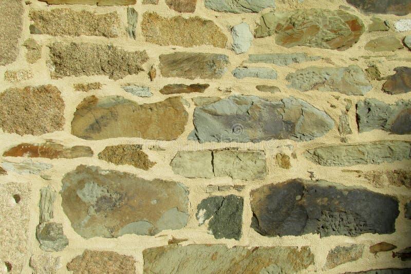 Modelo de la pared de ladrillo fotos de archivo