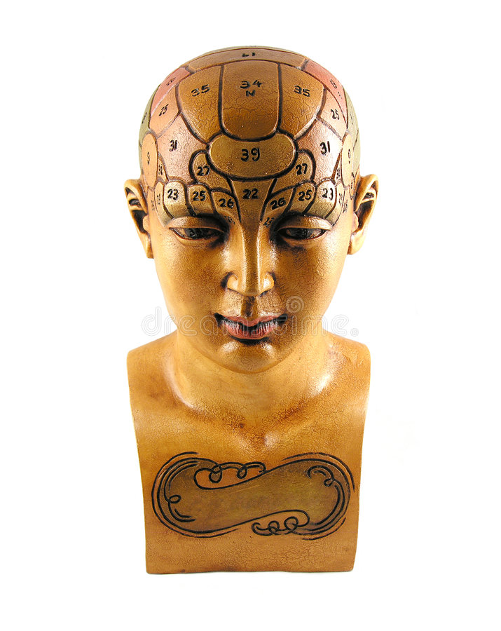 Modelo de la psicología fotografía de archivo libre de regalías