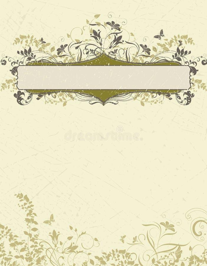 Modelo de la tarjeta de la invitación stock de ilustración