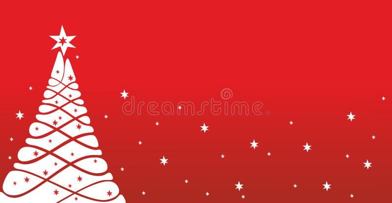 Modelo de la tarjeta de Navidad stock de ilustración