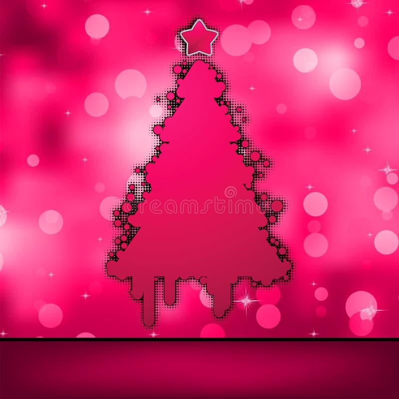 Modelo De La Tarjeta De Navidad. EPS 8 Imagen de archivo