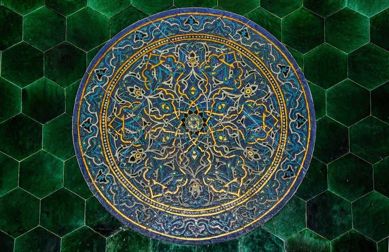 Modelo de la teja de mosaico imagenes de archivo