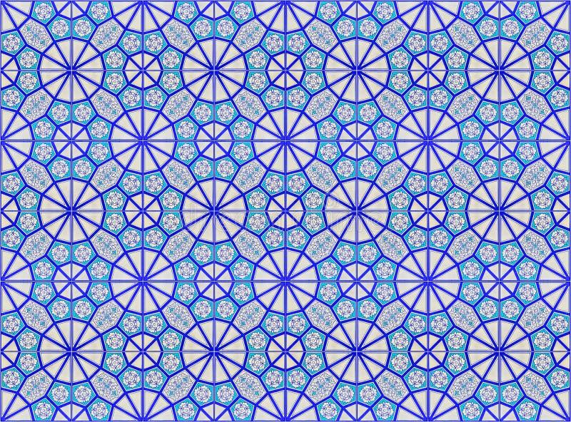 Modelo de la teja de mosaico imagen de archivo libre de regalías