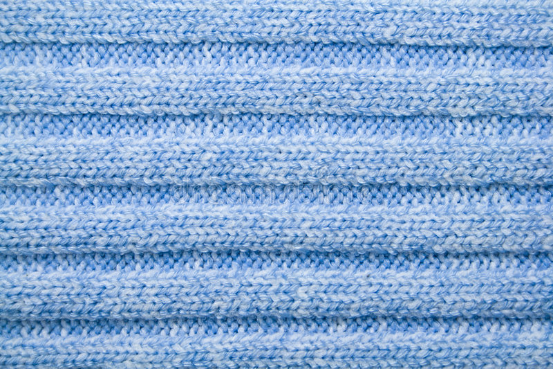 Modelo de lana azul fotografía de archivo