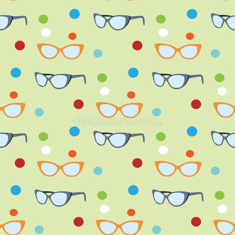 Download Modelo de las gafas de sol ilustración del vector. Ilustración de vista - 42425651