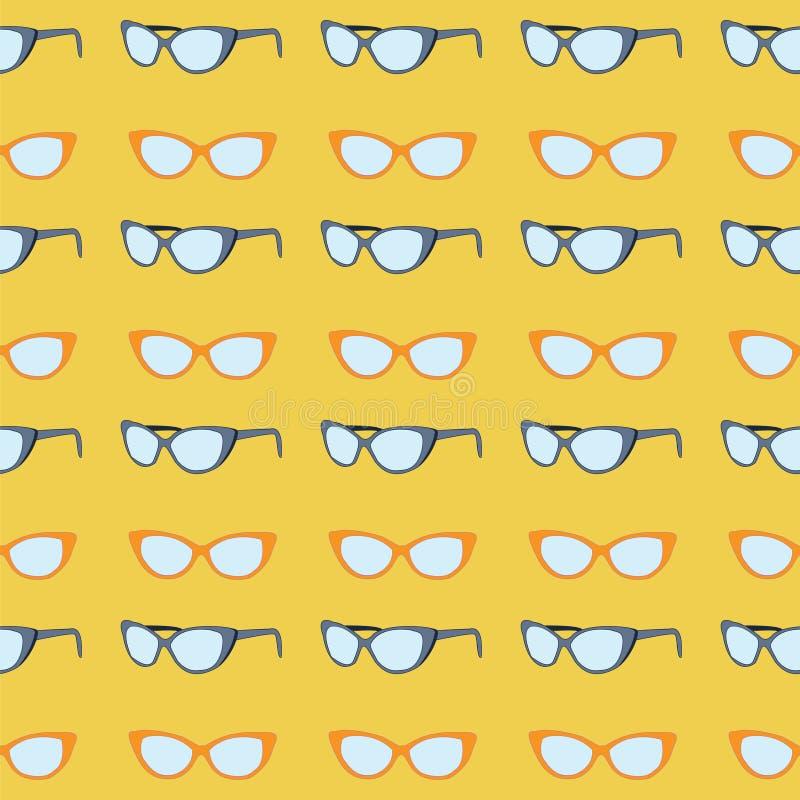 Download Modelo de las gafas de sol ilustración del vector. Ilustración de plástico - 42425661