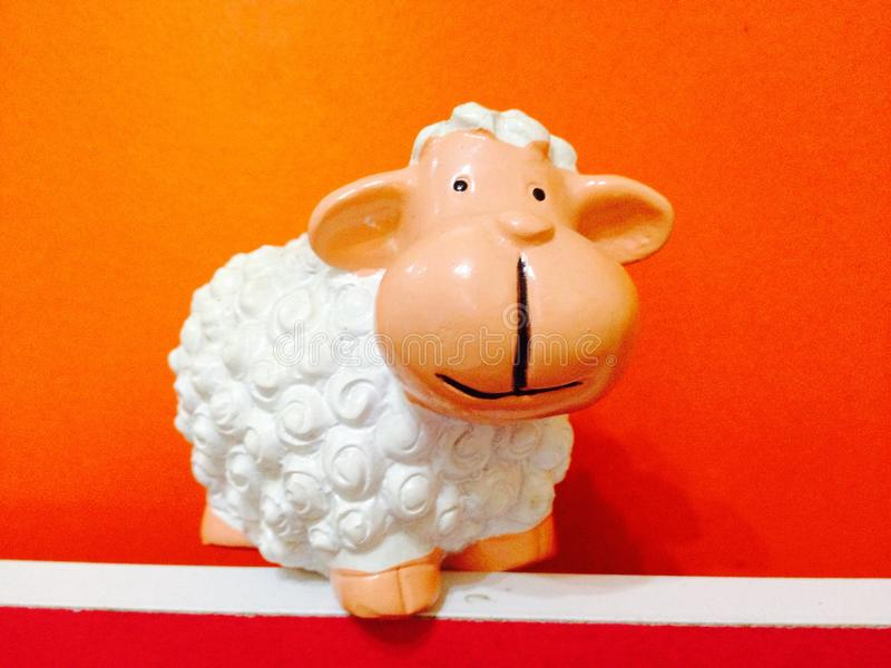 Modelo de las ovejas imagen de archivo libre de regalías