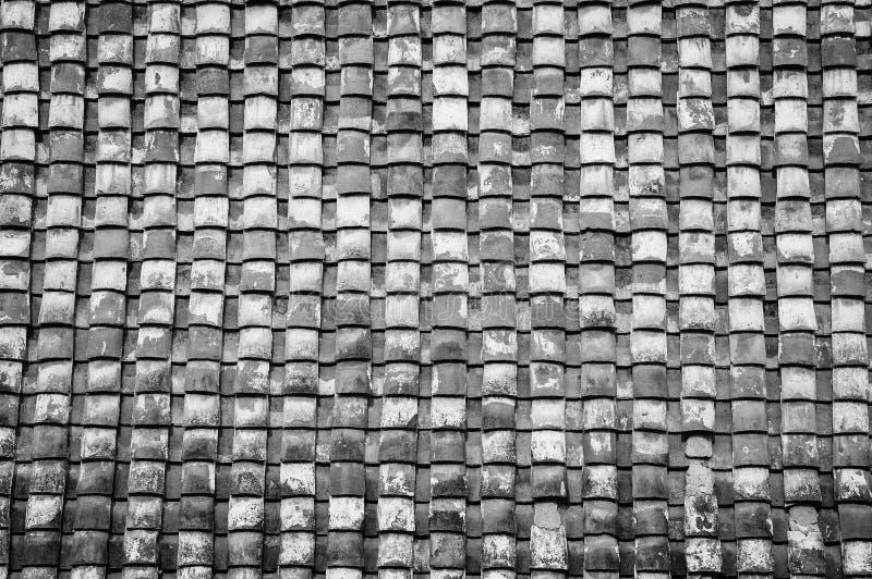 Modelo de las tejas de tejado foto de archivo libre de regalías