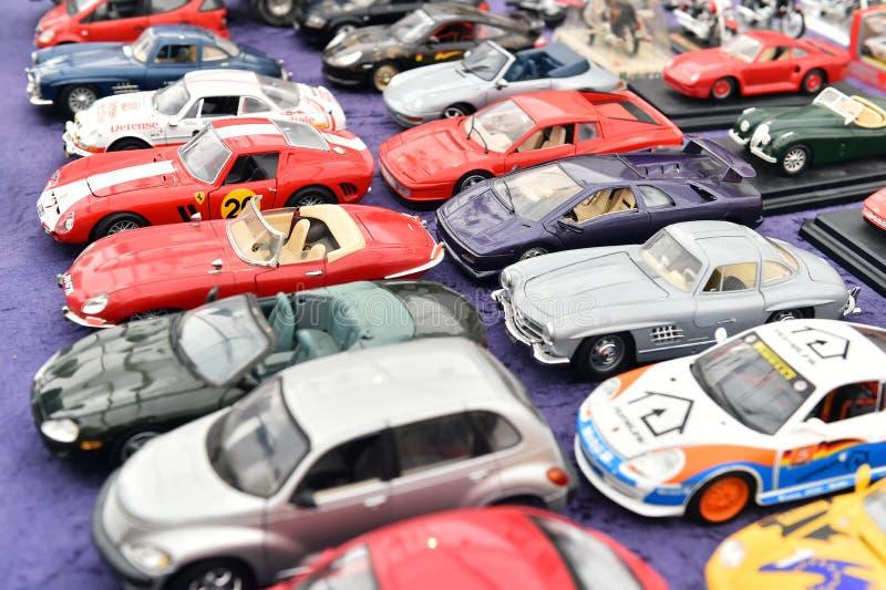 Modelo de los coches del juguete del vintage foto de archivo libre de regalías