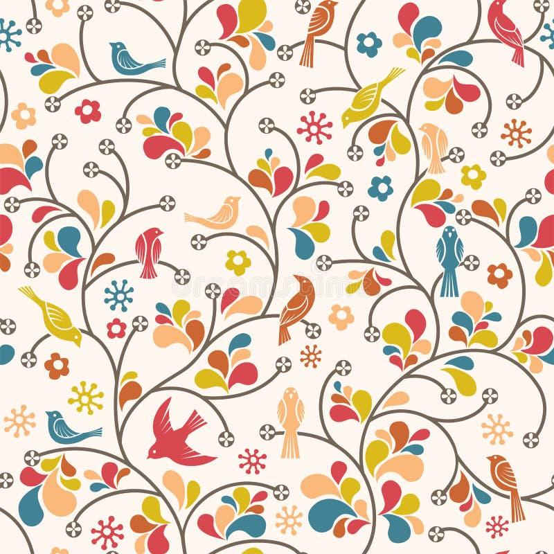 Modelo de los pájaros libre illustration