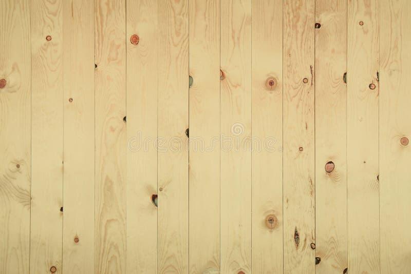 Modelo de madera beige del panel del viejo grunge foto de archivo libre de regalías