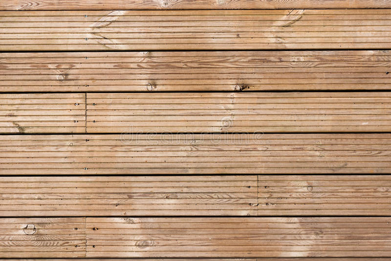 Modelo de madera de la textura del Decking imagen de archivo libre de regalías
