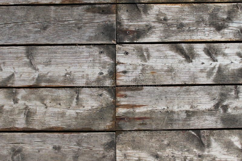 Modelo de madera de los tablones fotografía de archivo