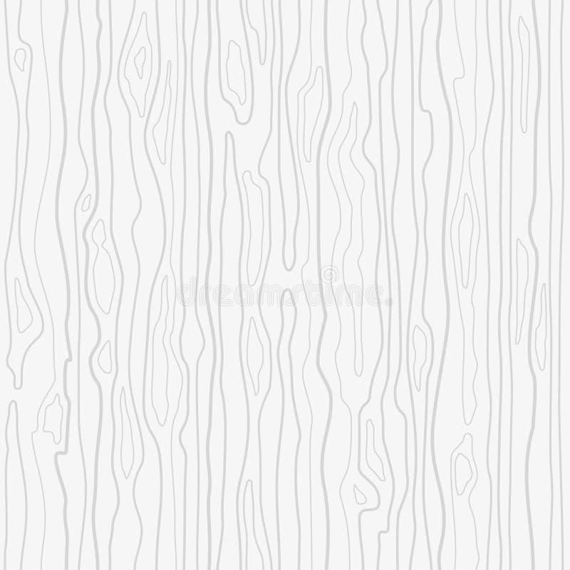 Modelo de madera inconsútil Textura de madera del grano Líneas densas abstraiga el fondo libre illustration