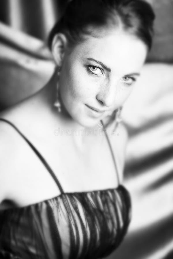Modelo de manera femenino foto de archivo