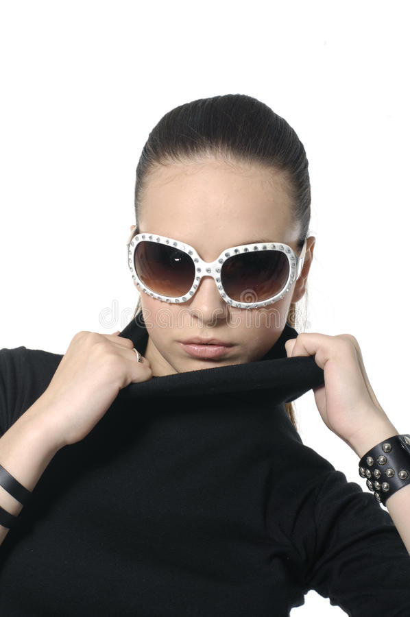 Modelo de moda imagen de archivo libre de regalías