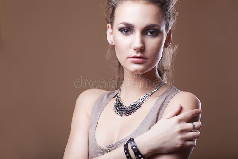 Modelo de moda fotos de archivo
