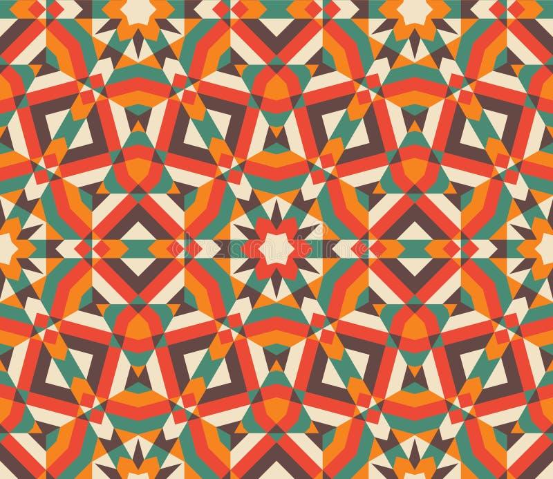 Modelo de mosaico inconsútil libre illustration