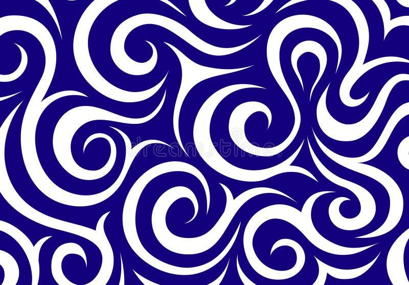 Modelo de onda stock de ilustración