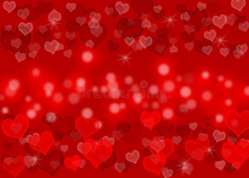 Modelo de onda del amor stock de ilustración
