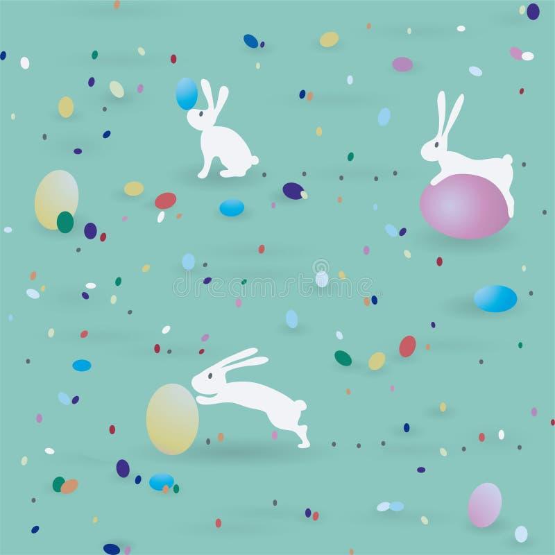 Modelo de Pascua ilustración del vector