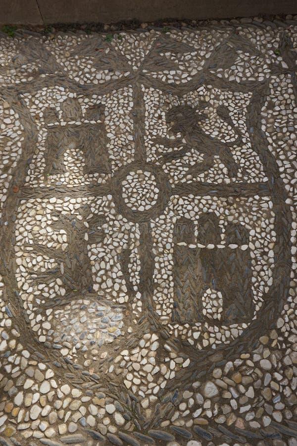 Modelo de piedra imagen de archivo libre de regalías
