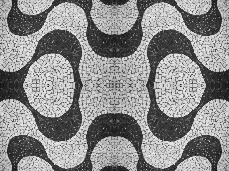 Modelo de piedra portugués ilustración del vector