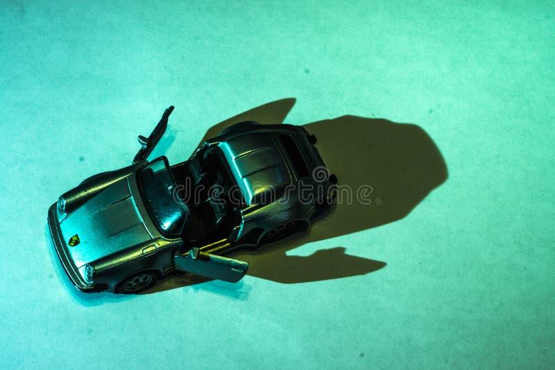 Modelo de Porsche foto de stock royalty free