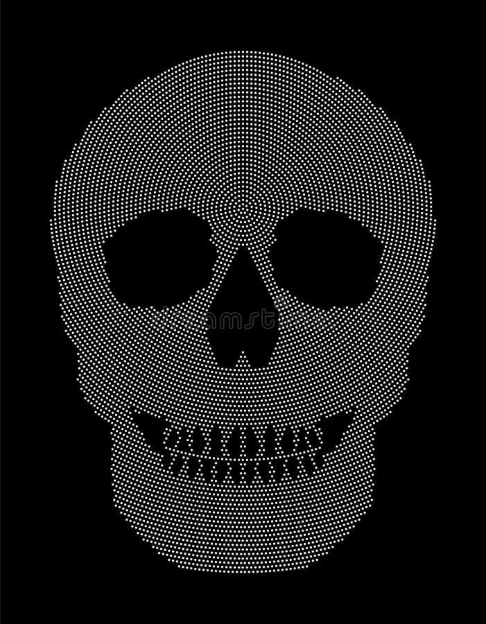 Contemporáneo Cráneo Patrón De Tejer Ornamento - Manta de Tejer ...