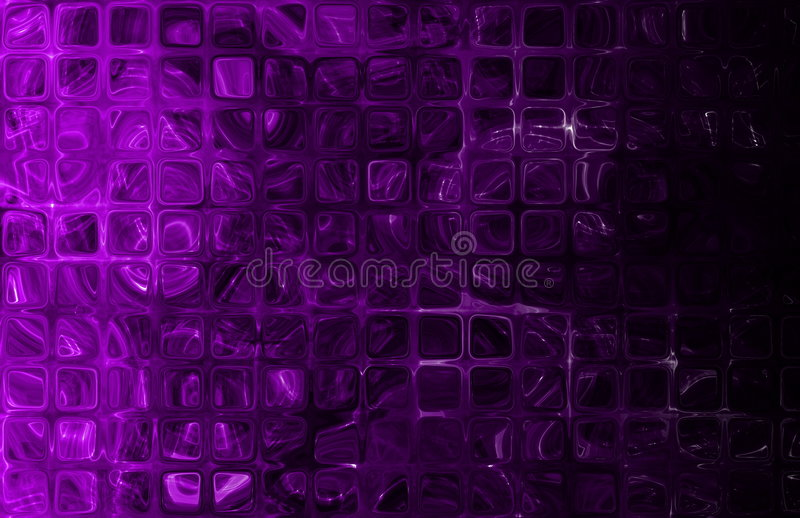 Modelo de red abstracto de los azulejos de los cubos stock de ilustración