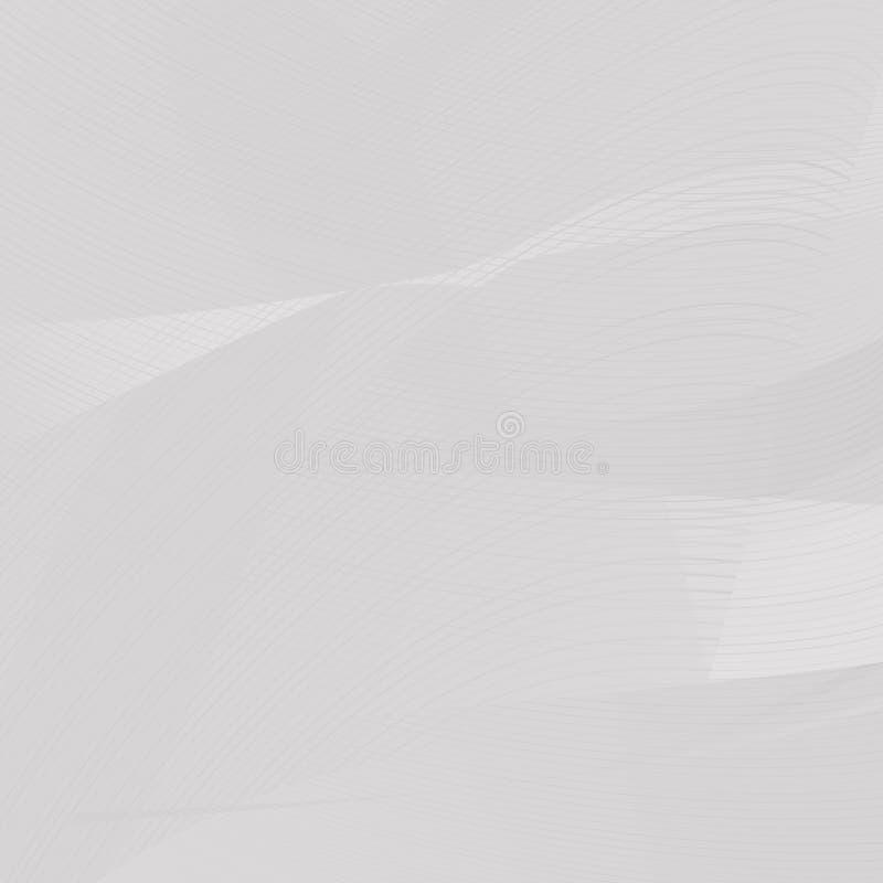 Modelo de rejilla abstracto brillante de la textura del fondo o modelo geométrico ilustración del vector