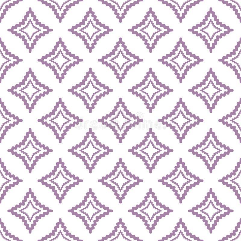 Modelo de Rhombus púrpuras imagen de archivo