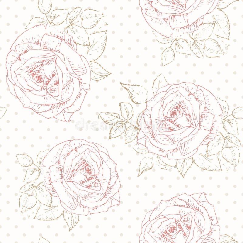 Modelo de Rose con el lunar libre illustration