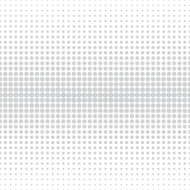 Modelo de semitono del círculo del arte sutil geométrico abstracto del deco ilustración del vector