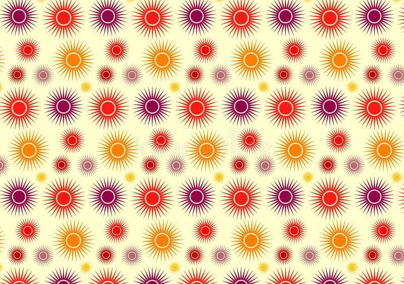 Modelo de Sun stock de ilustración