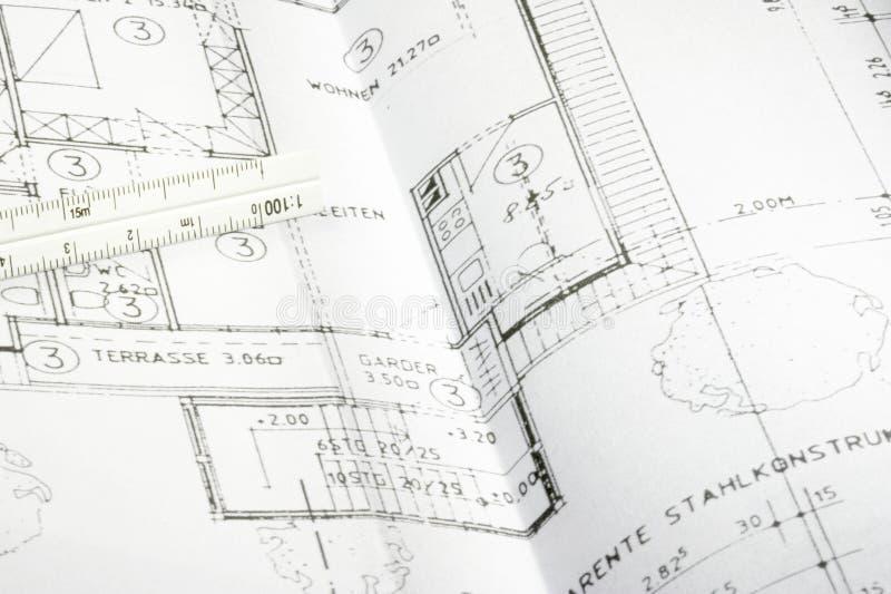 Modelo de um edifício 05 imagens de stock