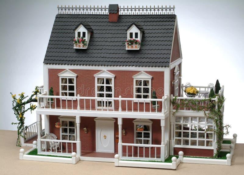 Modelo de una casa fotografía de archivo libre de regalías