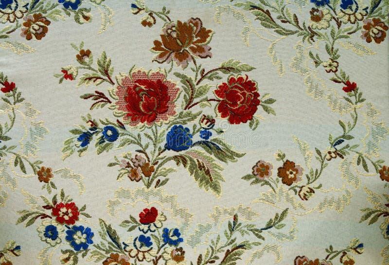 Modelo de una tapicería floral decorativa foto de archivo